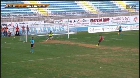 Il Foggia Calcio batte ai rigori l'Akragas e conquista la semifinale di Coppa Italia di Lega Pro