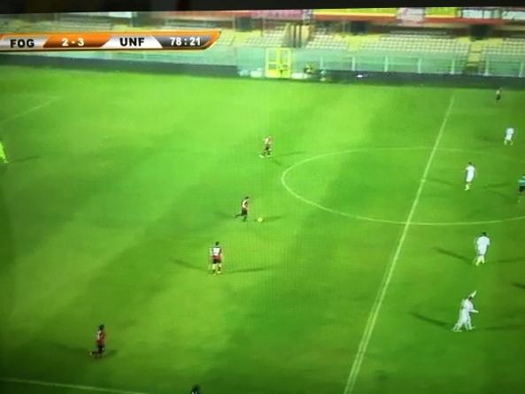 Disastro Foggia Calcio, si fa rimontare dal Fondi e perde 2-3