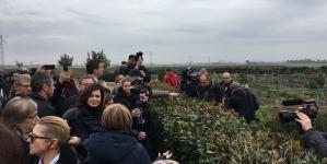 Laura Boldrini in visita a Foggia per il piano Mediterre.Bio