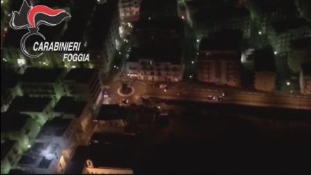 Operazione 'Largo Raggio': servizio di controllo dei carabinieri