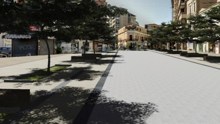 Ecco come sarà la nuova versione di piazza Umberto Giordano