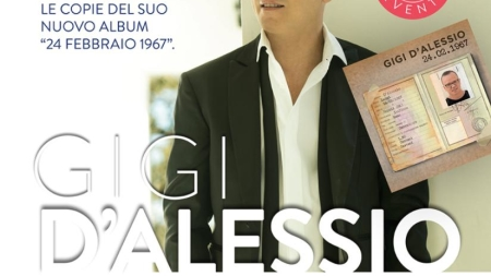 Oggi Gigi D'Alessio sarà a Foggia al centro commerciale GrandApulia