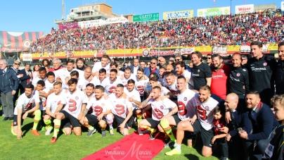 Foggia Calcio nei guai, deferito il club e 37 tesserati rossoneri