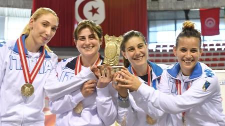 La foggiana Martina Criscio vince la coppa del mondo di sciabola femminile a squadre