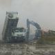 Incendio via Castelluccio, il sindaco Landella firma l'Ordinanza con le misure precauzionali