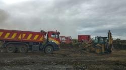 Incendio in via Castelluccio, dai rilievi dell'ARPA non emergerebbero danni ambientali