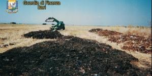 Traffico di rifiuti a Manfredonia: 19 arresti