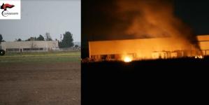 Incendio via Castelluccio, i carabinieri arrestano uno dei presunti responsabili