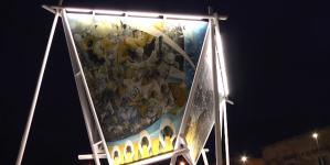 Restaurato lo storico murale di Giuseppe Di Vittorio