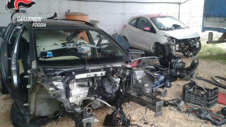 Pezzi di automezzi per 100 mila euro e un fucile rubato recuperati dai Carabinieri