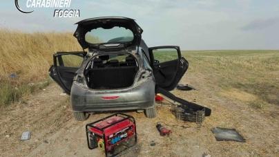 Riciclaggio di veicoli rubati: in manette due pregiudicati
