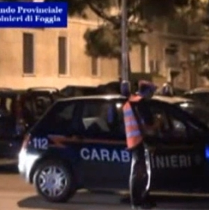 Criminalità: 100 carabinieri impegnati in perquisizioni a Cerignola