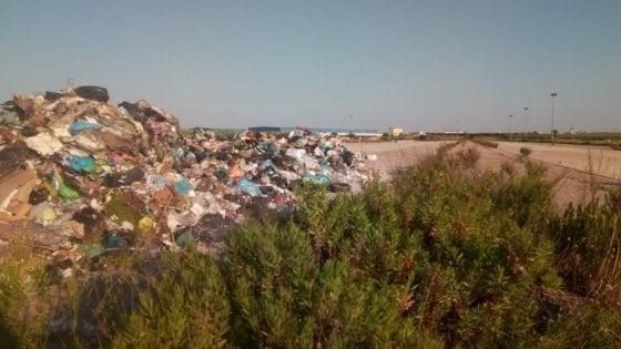 Area dell'interporto di Cerignola adibita a discarica: scatta il sequestro