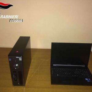 Ruba due computer in una scuola di Zapponeta: denunciato pregiudicato