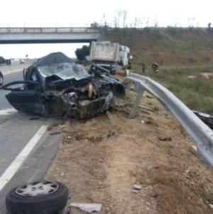 Auto contro furgone sulla provinciale Foggia-Lucera: un morto