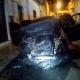 Attentato incendiario ad auto del comandante dei Carabinieri