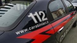 In fiamme auto dei Carabinieri nella notte a Lucera