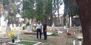 San Severo, il cimitero pulito come non accadeva da anni