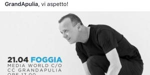 Gigi D'Alessio fa tappa al centro commerciale GrandApulia