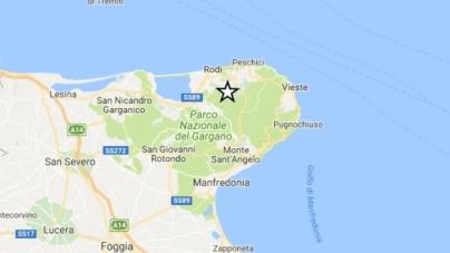 Scossa di terremoto scuote il Gargano