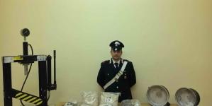 Scoperta la centrale della droga nel quartiere San Berardino a San Severo