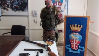 Sequestrati armi a San Marco in Lamis e Monte Sant'Angelo