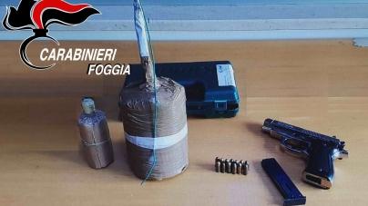Sequestrati due micidiali ordigni artigianali e una pistola modificata