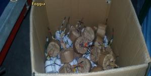"""Sequestrata una tonnellata di """"botti illegali"""" dalla Guardia di Finanza"""