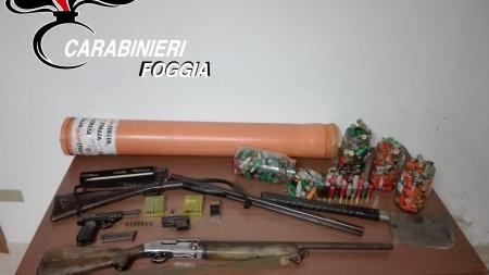 Armi da guerra rinvenute in una masseria: arrestato 24enne incensurato