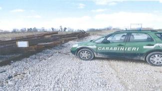 Sequestrate 226 tonnellate di rotaie ferroviarie dismesse