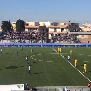 """Audace Cerignola di rimonta: al """"Monterisi"""" vittoria per 3-1 sul Fasano"""