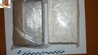 Sorpreso con 2 kg di cocaina: arrestato 41enne di origini campane