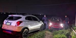 Auto rubate recuperate dalla Polizia di Stato dopo folle inseguimento
