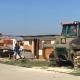 Ruspe in azione a Borgo Mezzanone: abbattute le case-baracche del ghetto