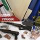 Rinvenuta auto con armi, munizioni e materiale utile per rapine dai Carabinieri
