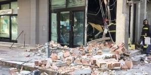 Assalto con esplosivo al bancomat della BPN in via Padre da Olivadi