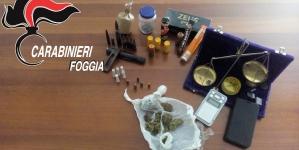 Sequestro di armi, esplosivi e droga a Cagnano Varano: arrestato 38enne