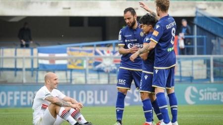 Il Foggia crolla a Verona e retrocede in serie C