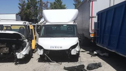Autocarro rubato a Milano e rinvenuto a Cerignola