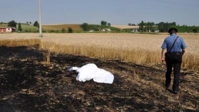 Tragedia ad Orta Nova: corpo carbonizzato di un 75enne rinvenuto in fondo agricolo