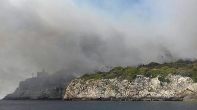 Incendio alle Isole Tremiti: arrestato il presunto piromane