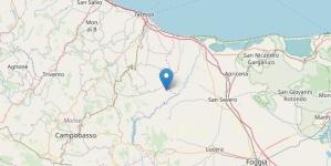 Forte scossa di terremoto in Molise: trema la provincia di Foggia