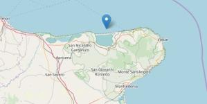 Trema la terra in provincia di Foggia: nuova scossa di terremoto sulla costa garganica