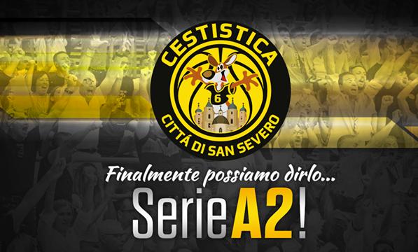 E' festa per la Cestistica San Severo: arriva la promozione in serie A2