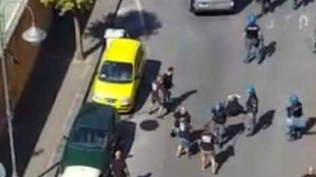 Nocerina – Foggia: disordini e violenti scontri tra ultras