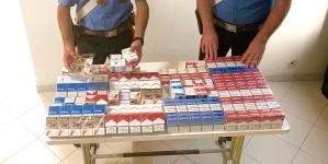 Recuperati e sequestrati 9 chili di sigarette di contrabbando