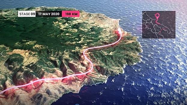 Giro d'Italia 2020: il Gargano torna protagonista con la tappa Giovinazzo-Vieste