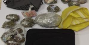 Polizia scopre 2,5 kg di marijuana in un'abitazione vicino Borgo Mezzanone