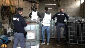 Oltre 12mila litri di gasolio sequestrato in una masseria di Cerignola