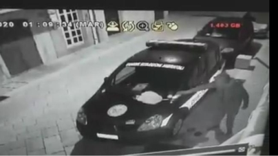 Incendiata auto di volontari a Manfredonia: è caccia all'uomo incappucciato